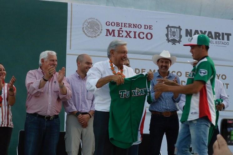 AMLO inaugurará la Liga Nacional Minera de Béisbol