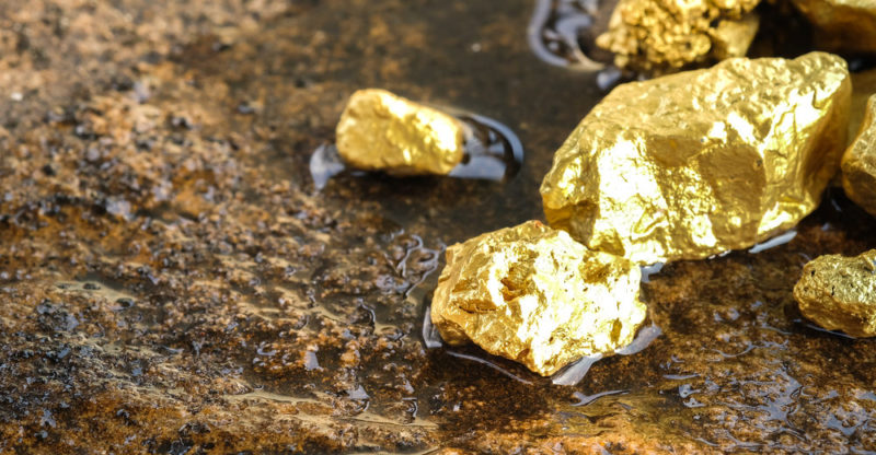 El oro, un misterio bajo la tierra